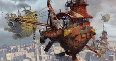 concept ships: April 2011