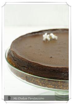 """Mi dulce tentación: Pastel de Queso y Chocolate """"Agujero Negro"""""""