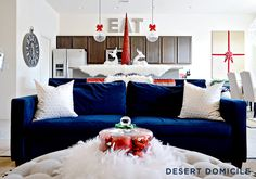 Blogger Stylin' Home Tours: Christmas 2015 | Desert Domicile