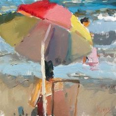 "Daily Paintworks - ""Sunny Afternoon"" - Original Fine Art for Sale - © Randall Cogburn"