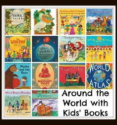 Travel around the world with kids' books! A complete list of multicultural books from all corners of the globe. Around The World Theme, We Are The World, Around The Worlds, Kids Around The World, Barefoot Books, Kids Reading, Reading Lists, Reading School, Reading Themes