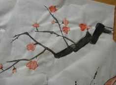 Japan sumi-e painting tutorial. Paint to create beautiful lantern craft Sumi E Painting, Japan Painting, Painting For Kids, Japanese Culture, Japanese Art, Preschool Crafts, Crafts For Kids, Preschool Learning, Japan For Kids