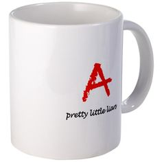 pretty little liars mugs | ... Little Liars Television Drinkware  Pretty Little Liars TV Show Mug