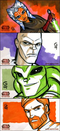 Clone Wars Widevision: Batch 2 by grantgoboom.deviantart.com on @deviantART