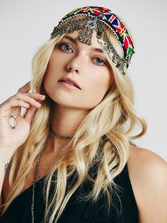 Free People Indian Tapestry Headpiece, $58.00
