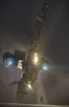 #spaceopera #scifi scene inspiration