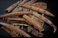 More Viking combs from Birka
