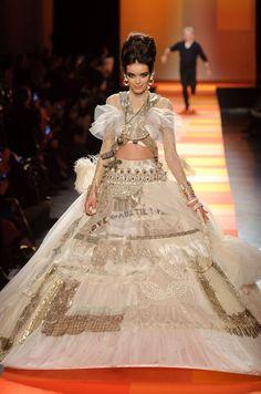 Défilé Gaultier Paris haute couture printemps-été 2013 #PFW #parisfashionweek