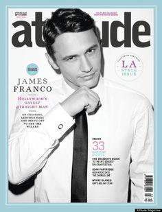 James Franco Responds To Gay Rumors In Attitude Magazine Interview (PHOTO)