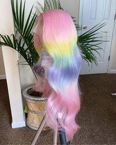 Baddie Hairstyles, Pretty Hairstyles, Braided Hairstyles, Colored Weave Hairstyles, Creative Hair Color, Barbie Hair, Hair Laid, Lace Hair, Creative Hairstyles
