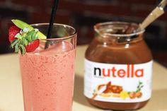 Вишневый смузи с Nutella