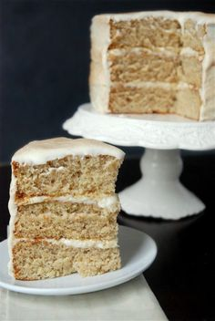 banana dream cake - just reading the recipe, I can tell this one is a winner. Must make.