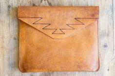 Make Smith Leather Mountain Clutch
