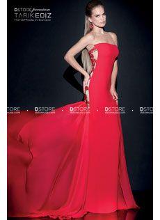 Vestido de Festa Longo Couture em Crepe com Renda SELLY 92475