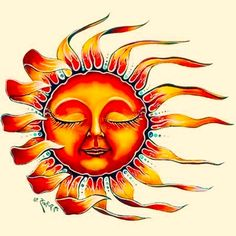 sun tattoo, maybe. I'm not entirely into the faces in sun/moon pictures Sun Tattoos, Trendy Tattoos, Body Art Tattoos, Tatoos, Paisley Tattoos, Henna Tattoos, Celtic Tattoos, Tattoo Art, Sun Tattoo Designs
