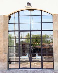 Steel Windows and Doors - Commercial Steel Windows, Steel Doors, Windows And Doors, Commercial Office Space, Building Renovation, Glass Room, Steel Buildings, Industrial, Exterior