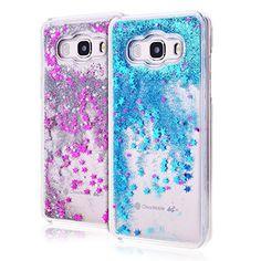 cool Funda Samsung J3,E-Lush Bling Purpurina llamativa Funda Protectora Dura Anti-rasguño y a Prueba de Golpes Bumper  Ligero Funda para Samsung J3