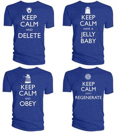 Awesome Doctor Who T-shirts!