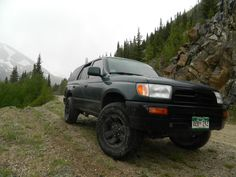 Mosquito pass, pre lift and tires