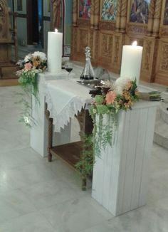by chlorofilli flowers Orthodox Wedding, Wedding Inspiration, Wedding Ideas, Wedding Decorations, Table Decorations, Travel Themes, Church Ideas, Religion, Gardening