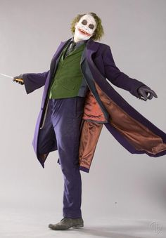 Fotos raras Joker.