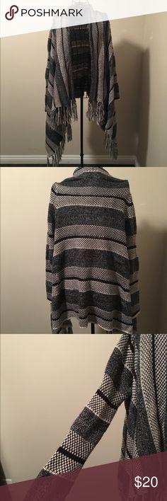 Fringe sweater Love by design (Nordstrom) draped fringe sweater. Love by design Sweaters Shrugs & Ponchos