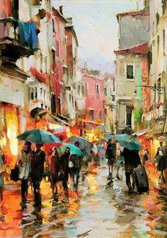 Soirée d'automne, Venise - Dimitri Danish