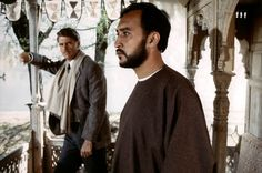 """James Fox and Victor Banerjee from """"A Passage to India"""" Art Malik, My Beautiful Laundrette, A Passage To India, Indian Prince, David Lean, Richard Attenborough, Ben Kingsley, Toby Stephens, United Kingdom"""