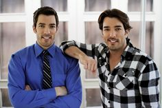 The Property Brothers. These men can fix my house. Anyday.