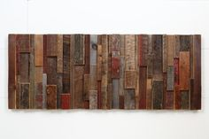 Reclaimed+wood+wall+art+37x141/2x13/4+Made+of+by+CarpenterCraig,+$400.00