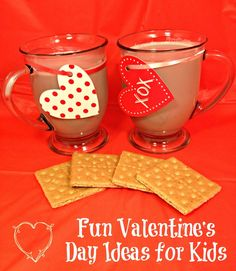 Fun Valentines Day Ideas for Kids #kids #Valentinesday #TruMoo #ad