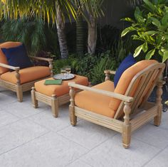 Giati Teak Furniture Outdoor Sets Collection Chairs