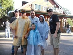 Pack a poncho in your bag.   15 Tips And Tricks To Outsmart Everyone At The Theme Park