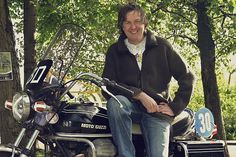 You probably know James May as the genial co-host of the most popular auto show in the world, Top Gear. But May is also a certified motorcycle nut, with a delectable stable of machines including two Moto Guzzis, and he regularly features in the excellent British magazine Classic Bike. Being a good sort, he's taken…