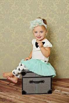 Love this photo by Lou Lou Photography. Outfit is Taylor  Joelle Designs #kidsfashion #photography #tinystyle