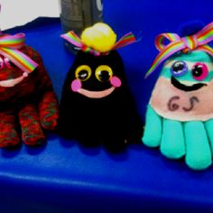This craft was a big hit with Brownie and Junior Girl Scouts! You can find instructions at http://familyfun.go.com/crafts/quadropus-675105/.
