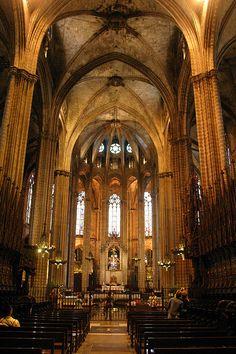 La Catedral de Barcelona by Luca Romano, via Flickr