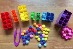 Mega Blok Pompom Sorting – HAPPY TODDLER PLAYTIME