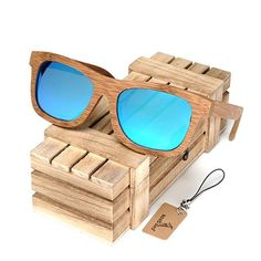 12b54547deb BOBO BIRD 6 color Polarized Bamboo Wood Sunglasses for Women Men. Polarized  GlassesWooden Gift BoxesMens SunglassesWooden SunglassesVintage ...