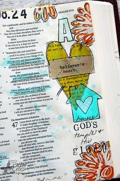Triple the Scraps: Journaling {Bible} Isaiah 46