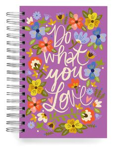 JOURNALS :: Jumbo Journals :: Do what you love Jumbo Journal - Ecojot - eco savvy paper products