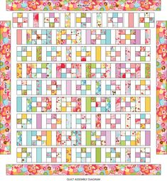 Jellyroll Quilts, Patchwork Quilting, Scrappy Quilts, Baby Quilts, Quilting Tutorials, Quilting Projects, Quilting Designs, Quilting Tips, 9 Patch Quilt