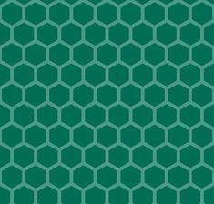 日本伝統文様 亀甲 緑