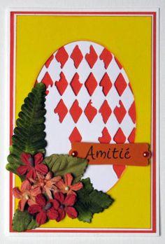 inspi d'après Sandrine VACHON magazine PCC N° 32, utilisation des matrices de découpe tim holtz, thimlits, tampon la compagnie des elfes, fleurs boutique scrap' à faire