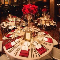 More information & Beautiful decor details for a red and gold wedding theme! Indian ...