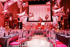 Warhol party at Montclair Art Museum. Copyright Jerry Rose Floral + Event Design