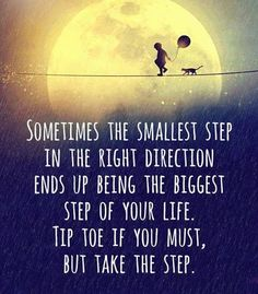 Small steps everyday will produce massive results.Keep in mind that you have to move forward everyday.