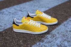 "Pharrell Williams x adidas Stan Smith ""Yellow & Red Polka Dot"""