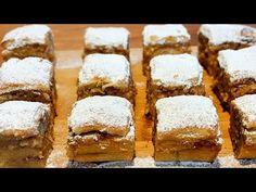 Κέικ που λιώνουν στο στόμα / Εθιστικό! / Εύκολη συνταγή / Ξηροί καρποί, αμύγδαλα και μήλα 👍🔝 - YouTube Sugar Free Recipes, Baking Recipes, Pie Co, Melting In The Mouth, Blueberry Cake, Greek Recipes, Sweet Bread, Dessert Bars, Banana Bread