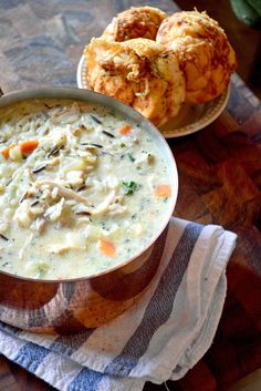 Looking for Fast & Easy Appetizer Recipes, Chicken Recipes, Soup Recipes! Recipechart has over free recipes for you to browse. Find more recipes like Creamy Chicken & Wild Rice Soup. Appetizer Recipes, Soup Recipes, Chicken Recipes, Cooking Recipes, Healthy Recipes, Crockpot Recipes, Diet Recipes, Cooking Ideas, Gourmet